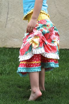 Insa Skirt Tute- I just bought this pattern book and starting this skirt...the possibilities are endless!