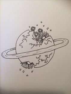 Disney Drawings Sketches, Space Drawings, Mini Drawings, Art Drawings Sketches Simple, Pencil Art Drawings, Doodle Drawings, Doodle Art, Pretty Drawings, Tattoo Sketches