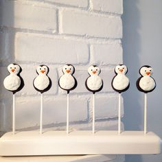 A personal favorite from my Etsy shop https://www.etsy.com/listing/181130981/penguin-cake-pops-private-listing