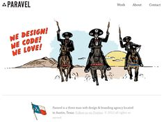 Paravel: A three man web design & branding agency located in Austin, TX.