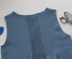 Sewing Glossary: How To Sew Pintucks Tutorial