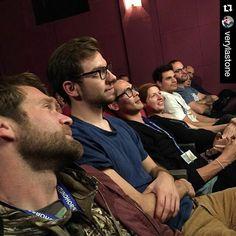 #Repost @verylastone ・・・ Front row glitterati at the #berlinpornfilmfestival #socks&fisting #dontask