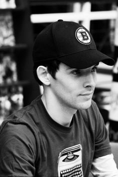 Colin Morgan. Such a good picture. Actually, I don't think any picture of Colin can be bad.