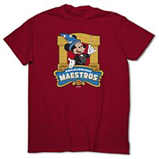 March Magic Tee for Adults - PhilharMagic Maestros - Limited Availability. Mickey's PhilharMagic at Walt Disney World
