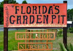 Florida's Garden Pit 20% OFF ENTIRE PURCHASE! Some restrictions apply. Not valid with any other offer. Minimum purchase of $20. Expires 9/16/2015.