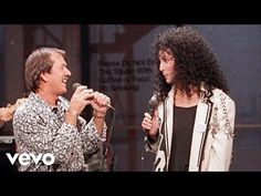 """Sonny & Cher reunite for the last time to sing """"I Got You Babe"""" on Letterman  (1987) - YouTube"""