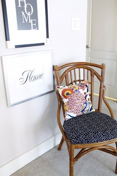 The Wicker Chair (and my poor husband!) - Laurie Jones Home
