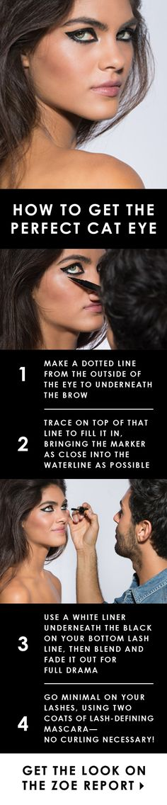 Master the perfect cat-eye with tips from Joey Maalouf!