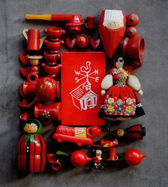 red dolls + toys | Flickr : partage de photos !