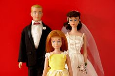 Ken Barbie and Skipper