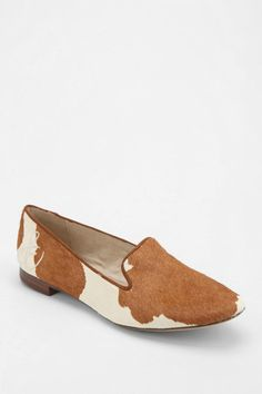 Urban Outfitters Sam Edelman Alvin Calf Hair Loafer in Brown