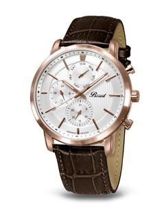Bossart Watch Germany Day&Date Watches, Leather, Cod, Accessories, Germany, Wrist Watches, Wristwatches, Cod Fish, Clocks