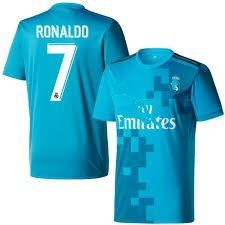 Buy aALLOOkART Cristiano Ronaldo Jersey - Real Madrid  7 Third Jersey Kit  For Adults - Replica Design Online at Low Prices in India - Amazon.in f763a8fd1