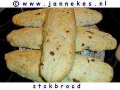 recepten voor Stokbrood bakken