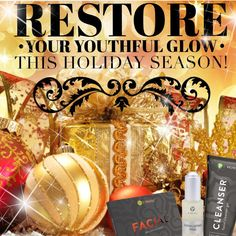 Merry Clean and Bright! Box of Facial wraps Cleanser Exfoliating Peel It Works Global, My It Works, It Works Loyal Customer, Lose Water Weight, Exfoliating Peel, It Works Distributor, It Works Products, Crazy Wrap Thing, Package Deal