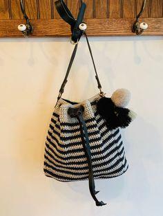 Gram CB Leather Handle, Bucket Bag, Tassels, Beads, Detail, Lush, Handmade, Note, Beading
