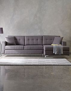 Love this couch! Jorge Sectional Sofa with track arms