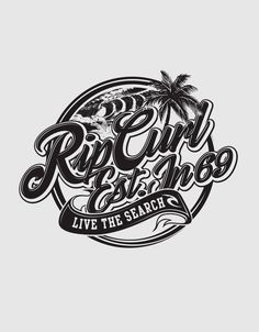 Various artworks and lockups for Rip Curl Surfing Co.
