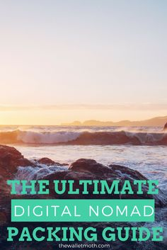 Packing for working on the road is totally different to packing for a backpacking adventure. Make sure your prepared with this ultimate list of essentials for digital nomads!