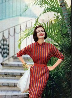 McCall's Pattern Fashions - Summer 1960 1960s Fashion, Vintage Fashion, Rockabilly, Rock And Roll, Vintage Vogue, Vintage Glamour, Mccalls Patterns, Pattern Fashion, Bunt