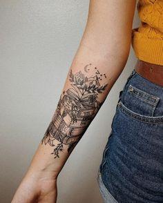 Awe-inspiring Book Tattoos for Literature Lovers - KickAss Things