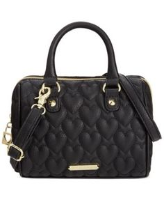 Betsey Johnson Macy's Exclusive Quilted Mini Crossbody