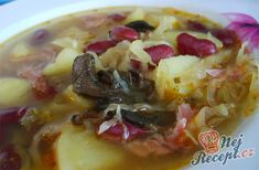 Sauerkraut, Oatmeal, Breakfast, Food, Sour Soup, Roux Sauce, Soups And Stews, Bean Soup, One Pot