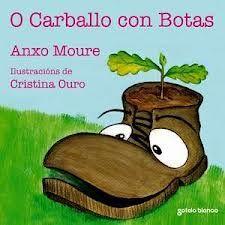"""""""O carballo con botas"""" -- Anxo Moure -- Sotelo Blanco"""