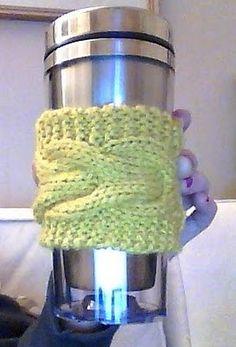 Cobbler: Knit Coffee Sleeve