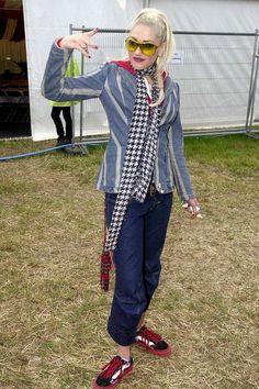 Top Celebrity Festival Fashion from Glastonbury (Glamour.com UK)
