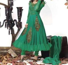 Long Frocks With Choori Pajama Designs 2014 in Pakistan and Prices