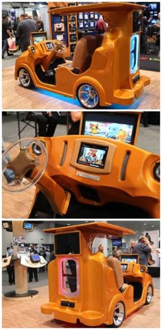 10 INSANELY Cool Cars from the 2014 SEMA Show. Meet the Boombox Cart... #spon #insane