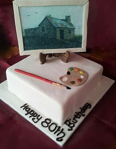 80th Birthday Cake my dad celebrates 80 years on 17 March My