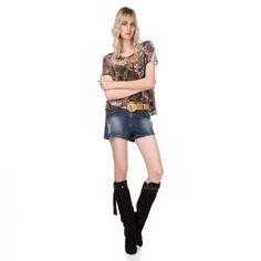 Eu quero e você ?   Short Jeans Puído com Cinto  COMPRE AQUI!  http://imaginariodamulher.com.br/look/?go=2eejIFp  #comprinhas #modafeminina#modafashion  #tendencia #modaonline #moda #instamoda #lookfashion #blogdemoda #imaginariodamulher