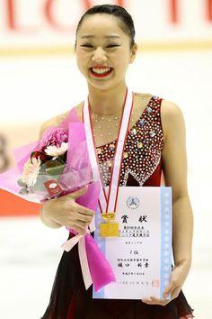 表彰式 優勝樋口新葉 中3 全日本ジュニア・第2日(男女FS) フォトギャラリー フィギュアスケート スポーツナビ