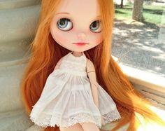 Etsy の OOAK Custom Blythe Doll fake Ilaria by MissLittleBlythe
