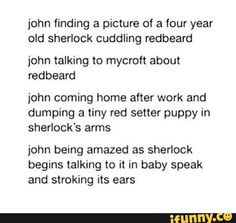 John, Sherlock, and Redbeard Sherlock Holmes Bbc, Sherlock Fandom, Sherlock John, Jim Moriarty, Watson Sherlock, Sherlock Quotes, Johnlock, Fandoms, Sherlolly