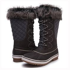 As days become shorter and the snow starts to fall, slip your feet into the GW 1560 waterproof, warm and cozy winter boot. Designed for cold and wet outdoor conditions, these boots feature waterpro… Winter Snow Boots Women, Cute Winter Boots, Stylish Winter Boots, Winter Fashion Boots, Winter Fashion Casual, Winter Shoes, Cozy Winter, Stylish Shoes For Women, Winter Outfits