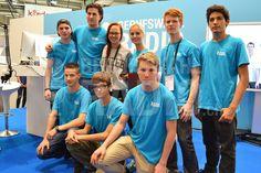 Das Berufswahlradio.ch-Team mit Stefanie Heinzmann!