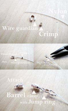 How to: Attach Clasps Part 2