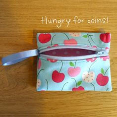 Sew Me Happy: A Coin Purse Tutorial - Sale! Shop at Stylizio for womens and mens designer handbags luxury sunglasses watches jewelry purses wallets clothes underwear Sewing Hacks, Sewing Tutorials, Bag Tutorials, Tutorial Sewing, Sewing Projects, Pouch Pattern, Diy Coin Purse Pattern, Pouch Tutorial, Diy Coin Purse Tutorial