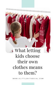 It is hard to let go of that parental worry and control and let your child take the wheel on things. After all, we as parents know what's best for them! But once you give them enough space to make their own decisions and develop a sense of individuality, you will be amazed to see their growth. Letting kids choose their own clothes means so much to them and could be an excellent parenting step to take now – and here is why.