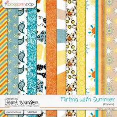 Flirting with Summer Papers https://www.pickleberrypop.com/shop/product.php?productid=28357=0=1