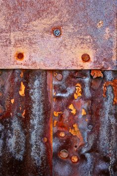 Abstract Fine Art Photography Industrial Rust Held by sherilwright, $25.00