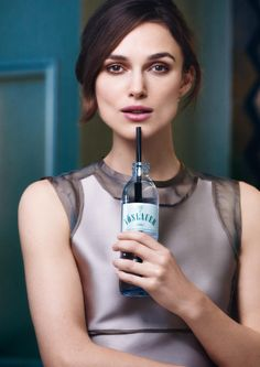 Keira Knightley for Vöslauer (mineral water)