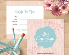 Photography gift certificate template instant by lemongem photography gift certificate template instant by lemongem 800 gift certificates pinterest gift certificate template photography gifts and yadclub Gallery