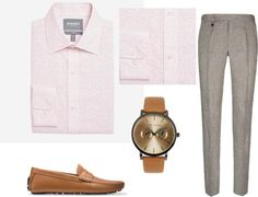 Camel Brown Accessories: Men's Spring/Summer 2017 Outfit Ideas