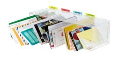 From CD Rack to Mail Sorter very creative idea! Clutter Organization, Home Organization Hacks, Paper Organization, Organizing Your Home, Organizing Tips, Moving List, Vocational Tasks, Mail Sorter, Cd Storage