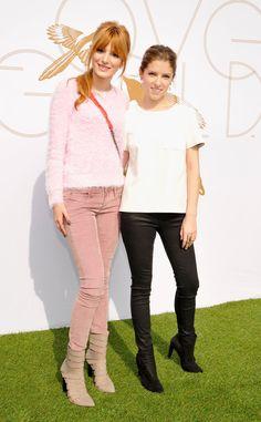 Bella Thorne & Anna Kendrick styles
