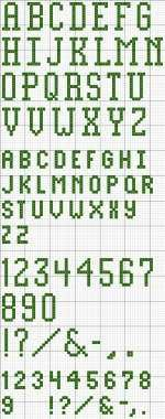An Index of Free Printable Cross Stitch Patterns
